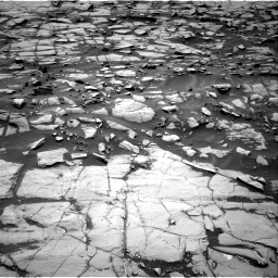 Nasa's Mars rover Curiosity acquired this image using its Right Navigation Camera on Sol 1384, at drive 646, site number 55