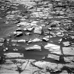 Nasa's Mars rover Curiosity acquired this image using its Right Navigation Camera on Sol 1384, at drive 658, site number 55