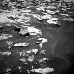 Nasa's Mars rover Curiosity acquired this image using its Right Navigation Camera on Sol 1384, at drive 694, site number 55