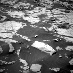 Nasa's Mars rover Curiosity acquired this image using its Right Navigation Camera on Sol 1384, at drive 724, site number 55