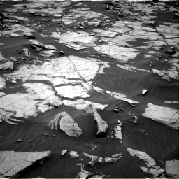 Nasa's Mars rover Curiosity acquired this image using its Right Navigation Camera on Sol 1384, at drive 730, site number 55