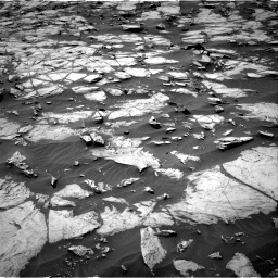 Nasa's Mars rover Curiosity acquired this image using its Right Navigation Camera on Sol 1384, at drive 754, site number 55
