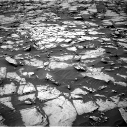 Nasa's Mars rover Curiosity acquired this image using its Right Navigation Camera on Sol 1384, at drive 760, site number 55