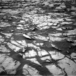 Nasa's Mars rover Curiosity acquired this image using its Right Navigation Camera on Sol 1384, at drive 766, site number 55