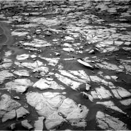 Nasa's Mars rover Curiosity acquired this image using its Right Navigation Camera on Sol 1384, at drive 772, site number 55