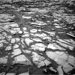 Nasa's Mars rover Curiosity acquired this image using its Right Navigation Camera on Sol 1384, at drive 778, site number 55