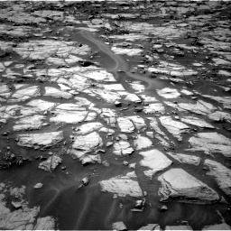 Nasa's Mars rover Curiosity acquired this image using its Right Navigation Camera on Sol 1384, at drive 784, site number 55