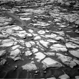 Nasa's Mars rover Curiosity acquired this image using its Right Navigation Camera on Sol 1384, at drive 796, site number 55