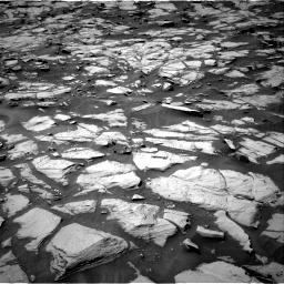 Nasa's Mars rover Curiosity acquired this image using its Right Navigation Camera on Sol 1384, at drive 802, site number 55