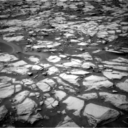 Nasa's Mars rover Curiosity acquired this image using its Right Navigation Camera on Sol 1384, at drive 808, site number 55