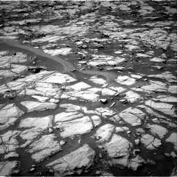 Nasa's Mars rover Curiosity acquired this image using its Right Navigation Camera on Sol 1384, at drive 814, site number 55