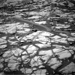 Nasa's Mars rover Curiosity acquired this image using its Right Navigation Camera on Sol 1384, at drive 820, site number 55