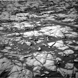 Nasa's Mars rover Curiosity acquired this image using its Right Navigation Camera on Sol 1384, at drive 838, site number 55
