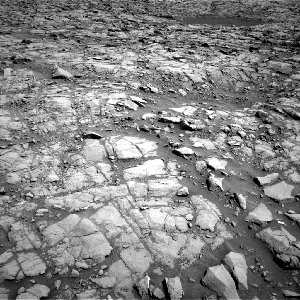 Nasa's Mars rover Curiosity acquired this image using its Right Navigation Camera on Sol 1384, at drive 922, site number 55