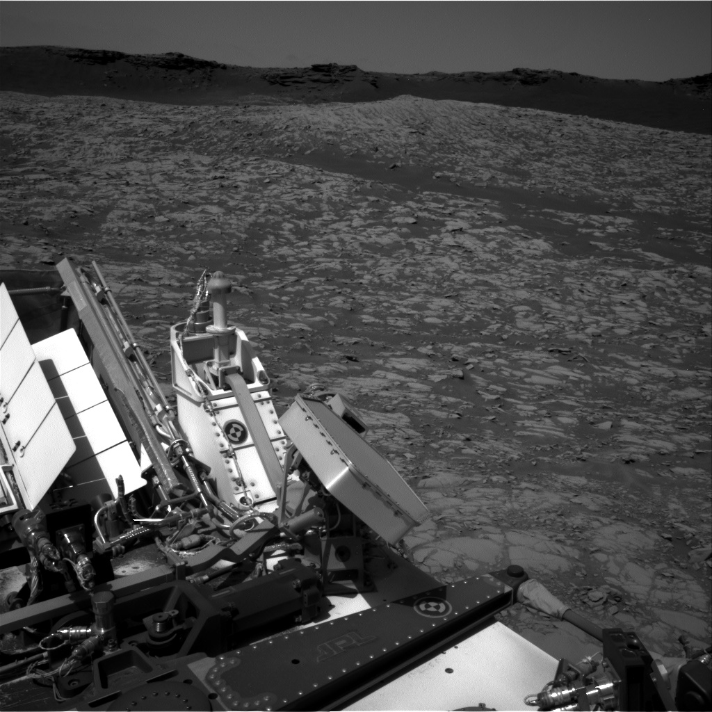 Nasa's Mars rover Curiosity acquired this image using its Right Navigation Camera on Sol 1384, at drive 940, site number 55