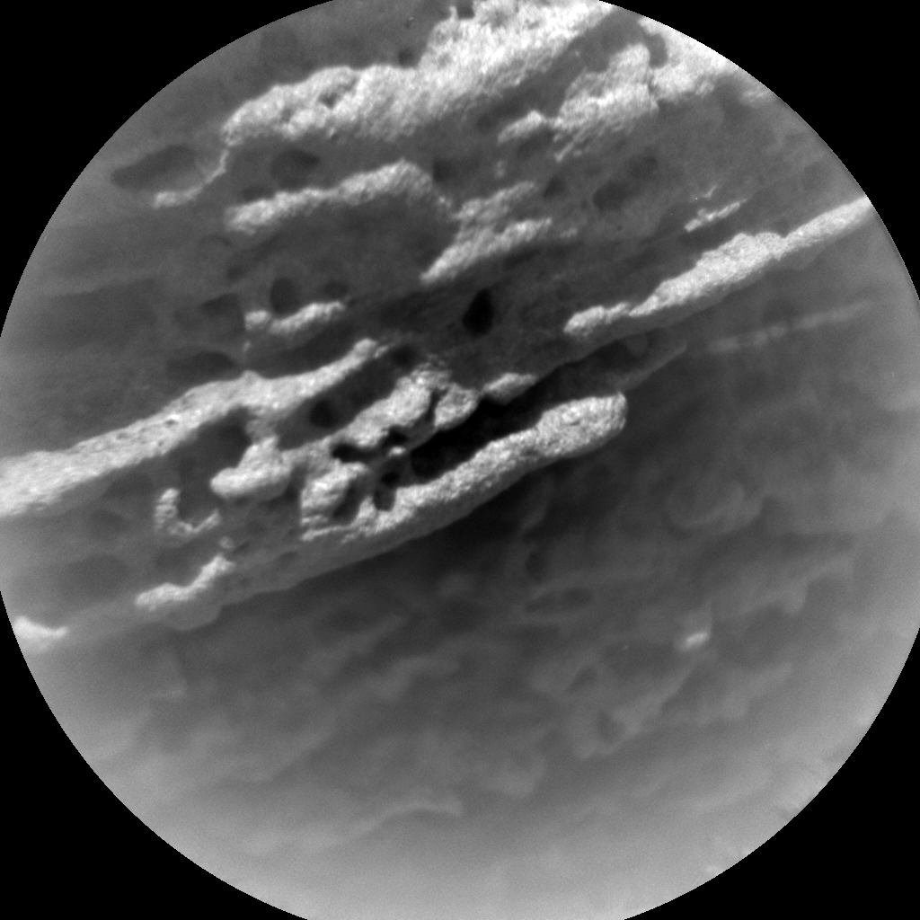 Nasa's Mars rover Curiosity acquired this image using its Chemistry & Camera (ChemCam) on Sol 1384, at drive 538, site number 55