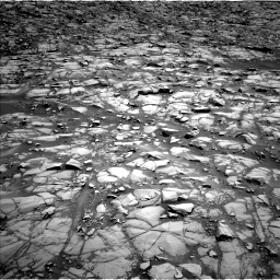 Nasa's Mars rover Curiosity acquired this image using its Left Navigation Camera on Sol 1385, at drive 952, site number 55
