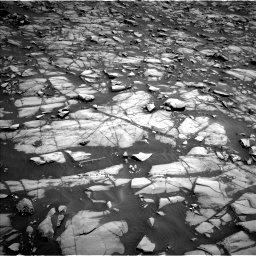 Nasa's Mars rover Curiosity acquired this image using its Left Navigation Camera on Sol 1385, at drive 1000, site number 55