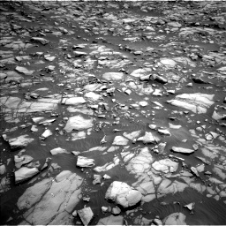 Nasa's Mars rover Curiosity acquired this image using its Left Navigation Camera on Sol 1385, at drive 1024, site number 55