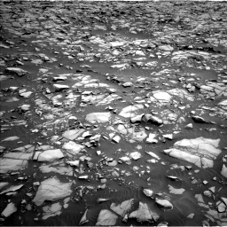 Nasa's Mars rover Curiosity acquired this image using its Left Navigation Camera on Sol 1385, at drive 1030, site number 55