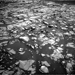 Nasa's Mars rover Curiosity acquired this image using its Left Navigation Camera on Sol 1385, at drive 1084, site number 55