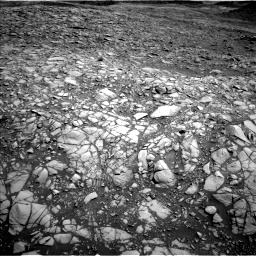Nasa's Mars rover Curiosity acquired this image using its Left Navigation Camera on Sol 1385, at drive 1264, site number 55