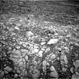 Nasa's Mars rover Curiosity acquired this image using its Left Navigation Camera on Sol 1385, at drive 1270, site number 55
