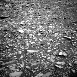 Nasa's Mars rover Curiosity acquired this image using its Left Navigation Camera on Sol 1385, at drive 1306, site number 55