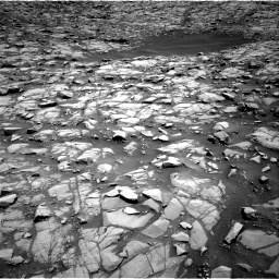 Nasa's Mars rover Curiosity acquired this image using its Right Navigation Camera on Sol 1385, at drive 946, site number 55