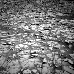 Nasa's Mars rover Curiosity acquired this image using its Right Navigation Camera on Sol 1385, at drive 952, site number 55