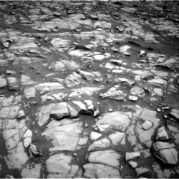 Nasa's Mars rover Curiosity acquired this image using its Right Navigation Camera on Sol 1385, at drive 976, site number 55