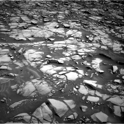 Nasa's Mars rover Curiosity acquired this image using its Right Navigation Camera on Sol 1385, at drive 988, site number 55