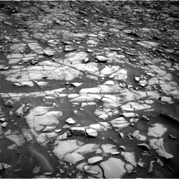 Nasa's Mars rover Curiosity acquired this image using its Right Navigation Camera on Sol 1385, at drive 994, site number 55