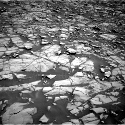 Nasa's Mars rover Curiosity acquired this image using its Right Navigation Camera on Sol 1385, at drive 1000, site number 55