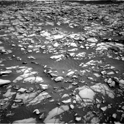 Nasa's Mars rover Curiosity acquired this image using its Right Navigation Camera on Sol 1385, at drive 1042, site number 55