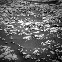 Nasa's Mars rover Curiosity acquired this image using its Right Navigation Camera on Sol 1385, at drive 1048, site number 55