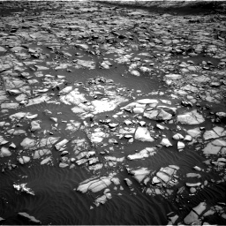 Nasa's Mars rover Curiosity acquired this image using its Right Navigation Camera on Sol 1385, at drive 1054, site number 55