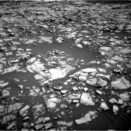Nasa's Mars rover Curiosity acquired this image using its Right Navigation Camera on Sol 1385, at drive 1060, site number 55