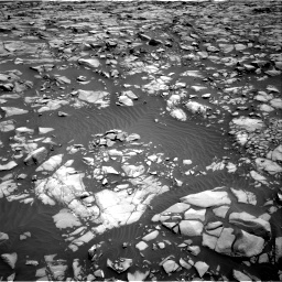 Nasa's Mars rover Curiosity acquired this image using its Right Navigation Camera on Sol 1385, at drive 1066, site number 55