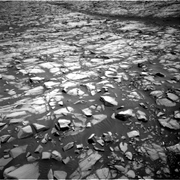 Nasa's Mars rover Curiosity acquired this image using its Right Navigation Camera on Sol 1385, at drive 1096, site number 55