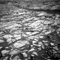 Nasa's Mars rover Curiosity acquired this image using its Right Navigation Camera on Sol 1385, at drive 1108, site number 55