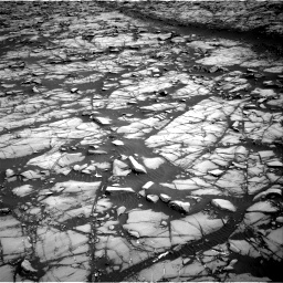 Nasa's Mars rover Curiosity acquired this image using its Right Navigation Camera on Sol 1385, at drive 1120, site number 55