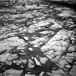 Nasa's Mars rover Curiosity acquired this image using its Right Navigation Camera on Sol 1385, at drive 1132, site number 55