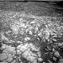 Nasa's Mars rover Curiosity acquired this image using its Right Navigation Camera on Sol 1385, at drive 1258, site number 55
