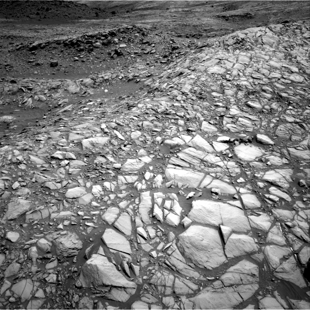 Nasa's Mars rover Curiosity acquired this image using its Right Navigation Camera on Sol 1385, at drive 1276, site number 55