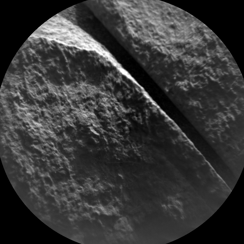 Nasa's Mars rover Curiosity acquired this image using its Chemistry & Camera (ChemCam) on Sol 1385, at drive 1312, site number 55