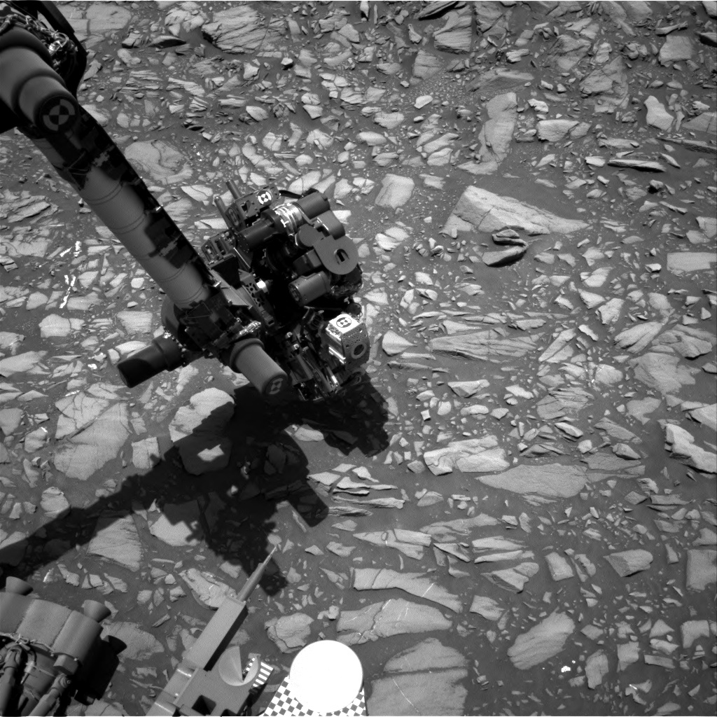 Nasa's Mars rover Curiosity acquired this image using its Right Navigation Camera on Sol 1386, at drive 1312, site number 55