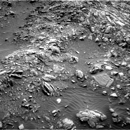 Nasa's Mars rover Curiosity acquired this image using its Right Navigation Camera on Sol 1386, at drive 1330, site number 55