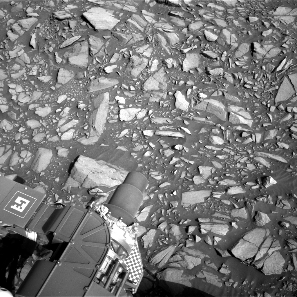 Nasa's Mars rover Curiosity acquired this image using its Right Navigation Camera on Sol 1386, at drive 1336, site number 55
