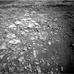 Nasa's Mars rover Curiosity acquired this image using its Right Navigation Camera on Sol 1387, at drive 1360, site number 55